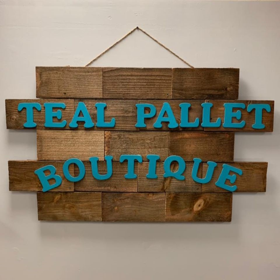 Teal Pallet Boutique and Thrift